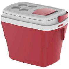 Caixa Térmica Tropical Vermelha Soprano 28L