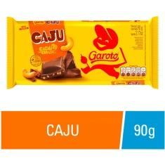 Chocolate com Castanha de Caju Garoto 90g