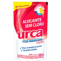Alvejante Urca Max sem Cloro Póuch 500ml