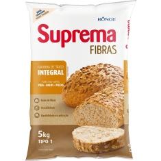 Farinha de Trigo Integral Suprema Fibras 5kg