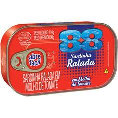 Sardinha Ralada com Tomate 88 110g
