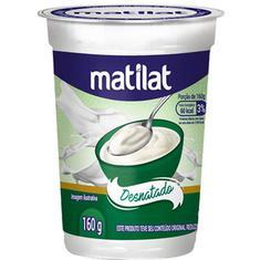 Iogurte Natural Desnatado Matilat 160g