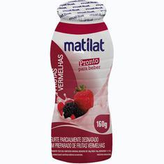 Iogurte de Frutas Vermelhas Matilat 160g