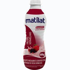 Iogurte de Frutas Vermelhas Matilat 800g