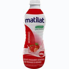 Iogurte de Morango Matilat 800g