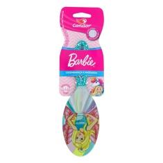 Escova para Cabelo Almofadada Oval Barbie Condor