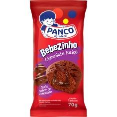 Bolo Panco Bebezinho Recheado Chocolate Suíço 2un 70g