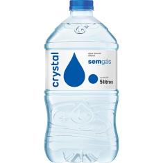 Água Mineral Sem Gás Crystal 5L