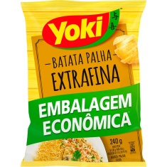 Batata Palha Extra Fina Yoki 240g