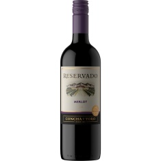 Vinho Chileno Merlot Concha y Toro 750ml