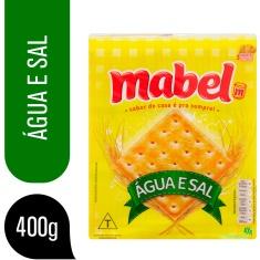 Biscoito de Água e Sal Mabel 400g