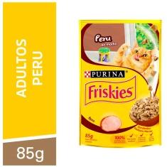 Alimento para Gatos Peru ao Molho Purina Friskies 85g