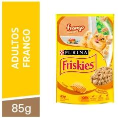 Alimento para Gatos Frango ao Molho Purina Friskies 85g