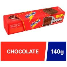 Biscoito Recheado Sabor Chocolate Nescau Nestlé 140g