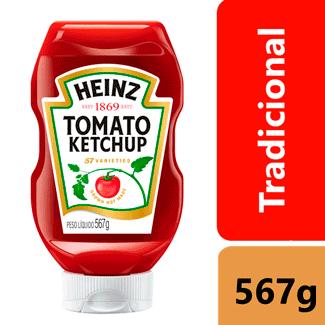 Ketchup Tradicional Heinz 567g