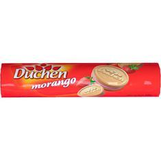 Biscoito Recheado Sabor Morango Duchen 135g