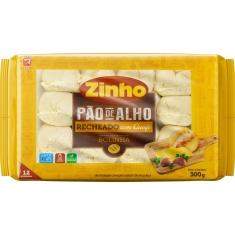 Pão de Alho Bolinha Recheio Queijo Zinho 300g