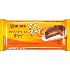 Cobertura de Chocolate Blend Dia a Dia Sicao 1,01kg