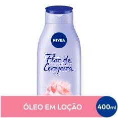 Hidratante Flor de Cerejeira & Óleo de Jojoba Nivea 400ml