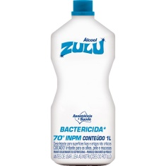 Álcool Zulu 70 Bactericida 1L