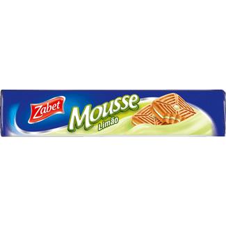 Biscoito Recheado Sabor Mousse de Limão Zabet 145g