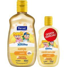 Kit Shampoo + Condicionador Infantil Suave Turma da Xuxinha Baruel 400 + 210ml