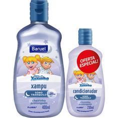 Kit Shampoo + Condicionador Infantil Sono Tranquilo Turma da Xuxinha Baruel 400 + 210ml