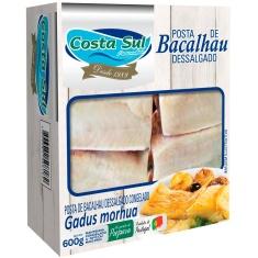 Bacalhau em Postas Congelado Costa Sul 600g