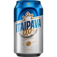 Cerveja Zero Álcool Itaipava 350ml