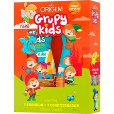Shampoo + Condicionador Infantil Xô Embaraço Grupy Kids 500ml