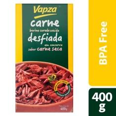 Carne Seca Desfiada Vapza 400g