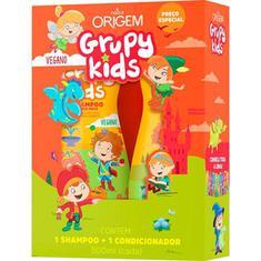 Shampoo + Condicionador Infantil Adeus Frizz Grupy Kids 500ml