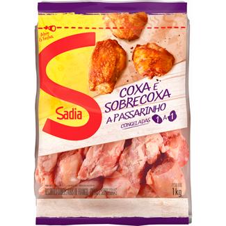 Coxa e Sobrecoxa à Passarinho Congelada Zip Sadia 1kg