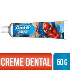 Creme Dental Kids Spiderman Oral B 50g