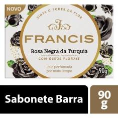 Sabonete em Barra Rosa Negra da Turquia Francis 90g