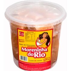 Paçoca de Amendoim Moreninha do Rio 1,04kg