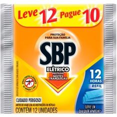 Inseticida SBP Pastilha 12h Refil Leve 12 Pague 10