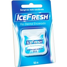 Fio Dental Encerado Ice Fresh 50m