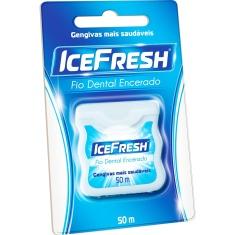 Fio Dental Encerado Ice Fresh 50m