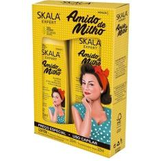 Shampoo + Condicionador Amido de Milho Skala 325ml