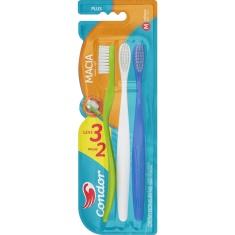 Escova Dental Macia Plus Cabeça M Condor Leve 3 Pague 2