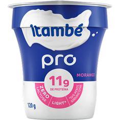 Iogurte Natural Pro Light Sabor Morango Itambé 120g