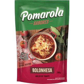 Molho Bolonhesa Pomarola Sachê 300g