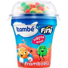 Iogurte Sabor Framboesa com Balas Itambé 120g