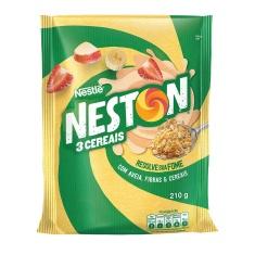 Cereal em Flocos 3 Cereais Neston Nestlé 210g