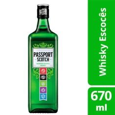 Whisky Escocês Passport Scotch 670ml
