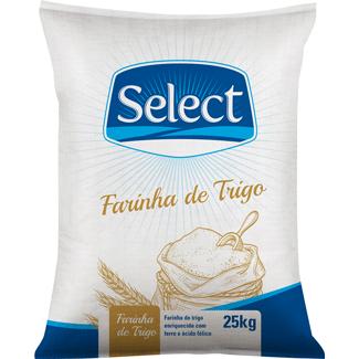 Farinha de Trigo Select 25kg
