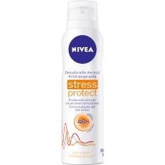 Desodorante Aerossol Nivea Feminino Stress Protec 91g