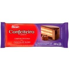 Cobertura de Chocolate Blend Harald Confeiteiro 1,05Kg