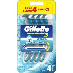 Aparelho De Barbear Prestobarba3 Cool Gillette Leve 4 Pague 3 Un
